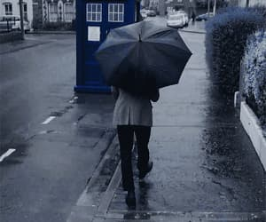 doctor who, tardis, and eleventh doctor image