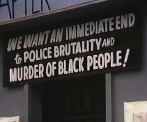 police, blm, and black lives matter image