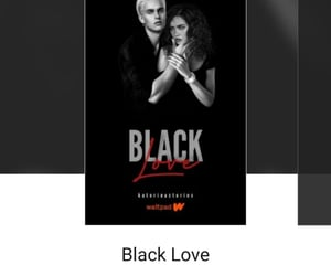 draco malfoy, black love, and dramione image