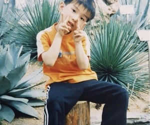 childhood, jungwoo, and kimjungwoo image