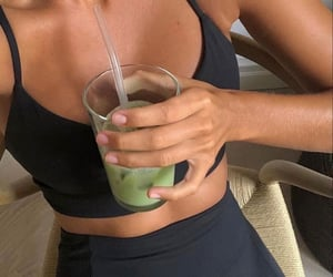 healthy, smoothie, and sport image
