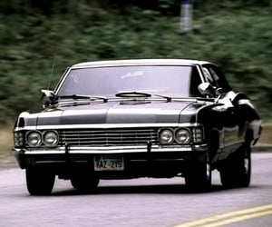 impala, supernatural, and spnfamily image