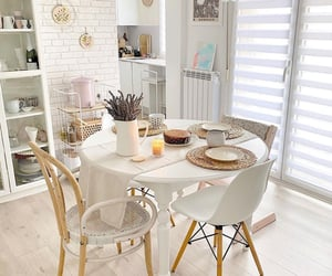 decor, dinning room, and house image