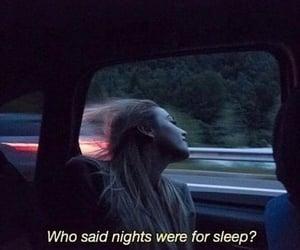mood, sleep, and night image