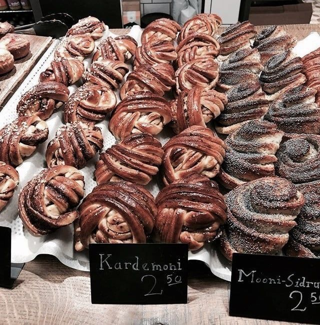 food, breakfast, and bakery image