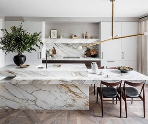 dream home, kitchen, and home image