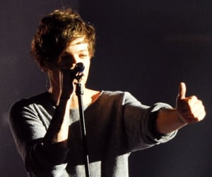 lt, louis tomlinson, and love image