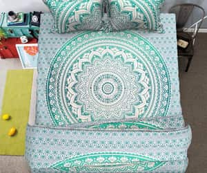 etsy, bedding set, and bohemian bedding image