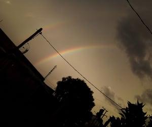arco-iris, rainbow, and sky image