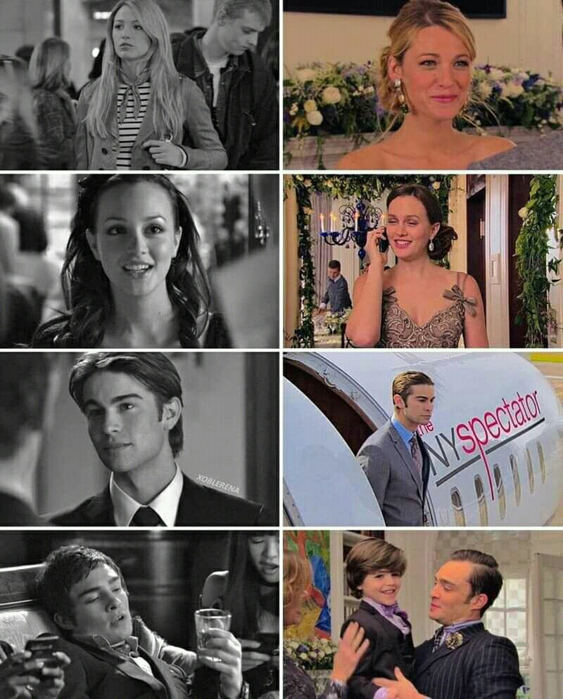 blake lively, ed westwick, and gossip girl image