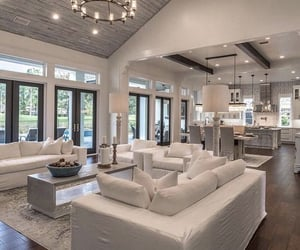 amazing, dinning room, and open space image