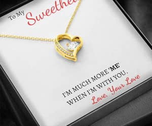 necklace, valentinesday, and gift ideas image