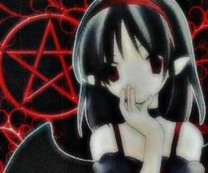goth, anime, and animecore image