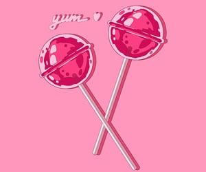 Sweet pink lollipop by AnGoArt | Redbubble