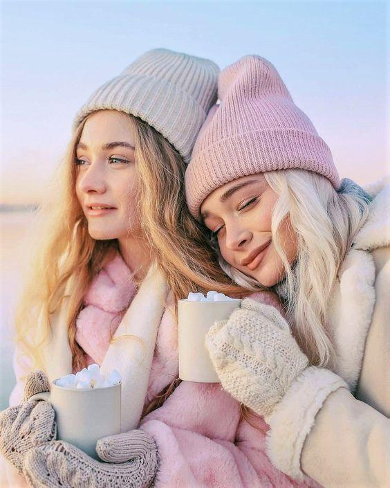 beanie, hat, and winter wonderland image