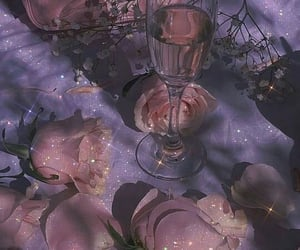 glitter, purple, and mor image