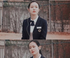 kdrama, actress, and high school image
