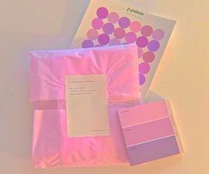 light, parcel, and purple image