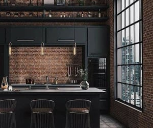 kitchen and black image