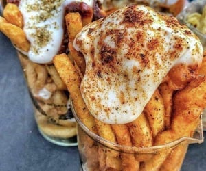 delicious, fries, and food image