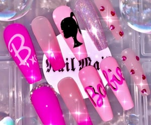 barbie, crystals, and diamonds image
