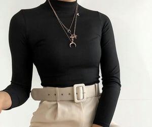 pants, belt, and black image
