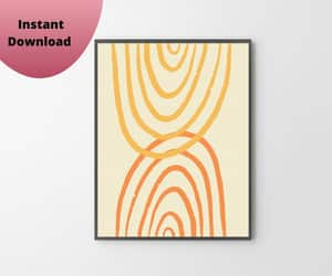 abstract design, minimalist design, and large poster art image