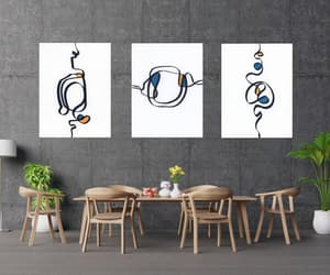 contemporary art, scandinavian art, and minimalist art print image