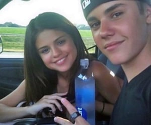 young love, jelena, and justin bieber image