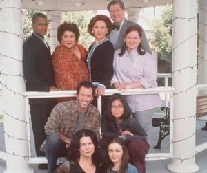 emily, michel, and gilmore girls image