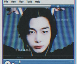 cyber, pretty, and hyungwon image