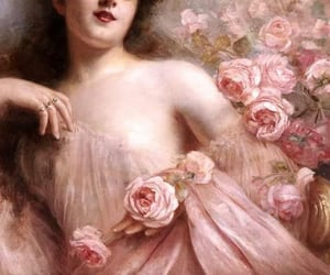 belle epoque, roses, and edwardian image