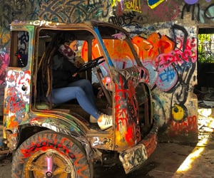 colors, adidas, and graffiti image