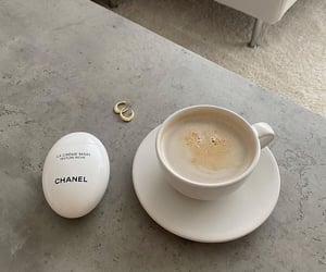 chanel, coffee, and fresh taste image