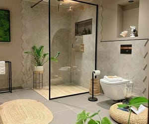 bathroom, home, and amazing image