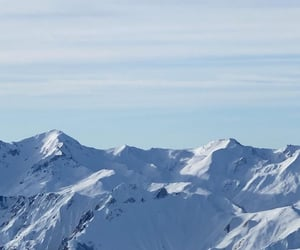 Moutains, neige, and ski image