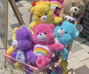 aesthetic, bear, and doll image