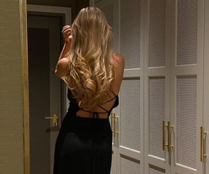 style, hair, and dress image