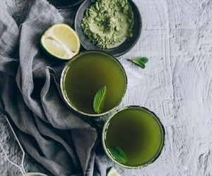 green tea, healthy, and by alessia image