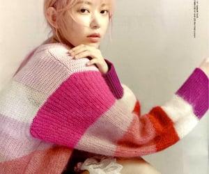 girl, kpop, and magazine image