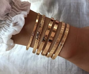 bracelet, jewelry, and style image