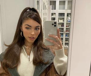 madison beer, hairstyle, and aesthetic image