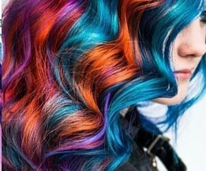 blue hair, alternative style, and hair inspo image