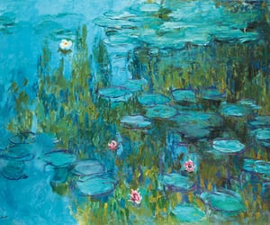 claude monet, water lilies, and lilies forver image