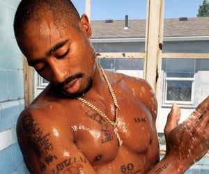 tupac, 90's, and ghetto image