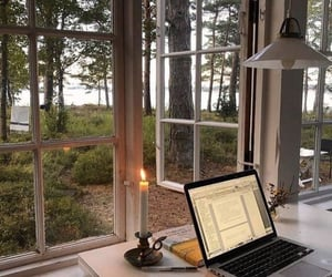 work, study, and nature image