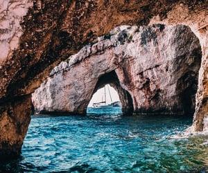 Greece, sea, and zakynthos image
