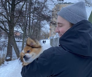 aww, Relationship, and winter image