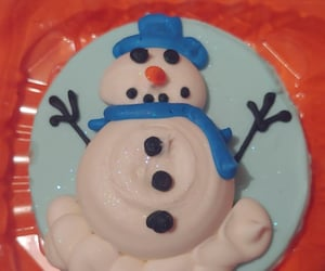 cookie, food art, and winter image
