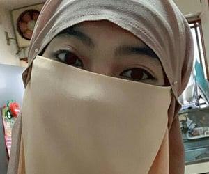 niqab, istiqomah, and kawaii image